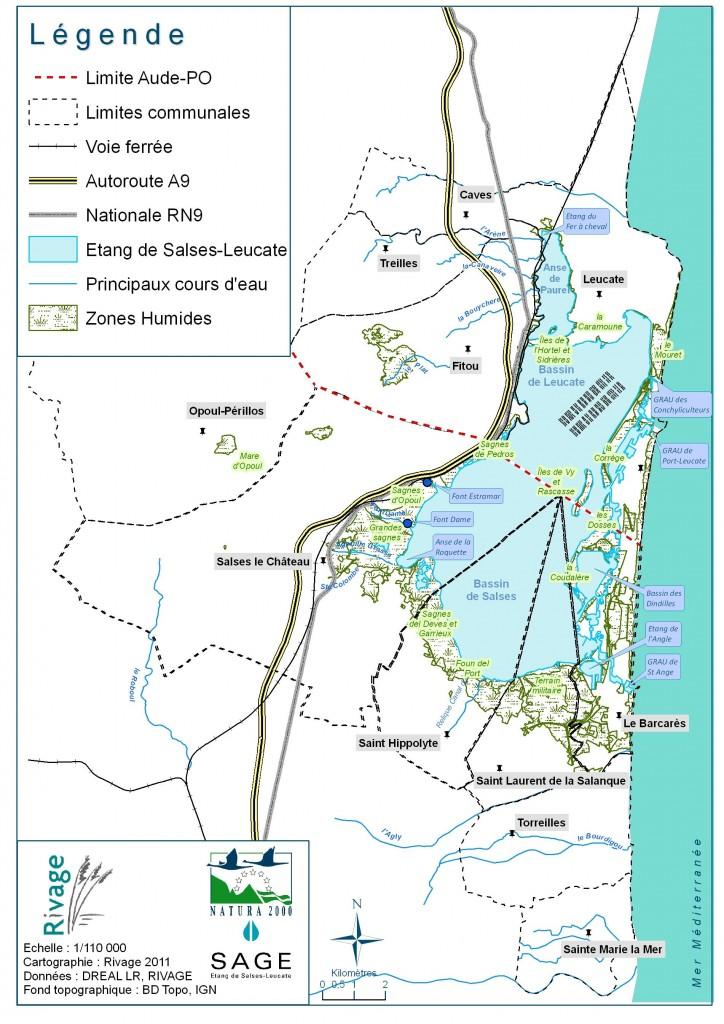Cartographie SAGE N2000