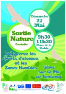 Sortie nature Ventenac 27-05-2018